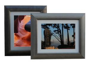 PixelPerfectFrames - The Digital Photo Frame can be used in landscape or portrait orientation
